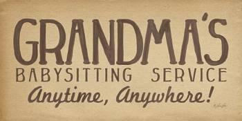 GRANDMA'S BABYSITTING SERVICE