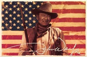 JOHN WAYNE-FLAG