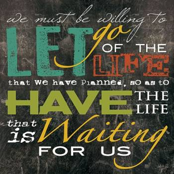 LET GO OF THE LIFE