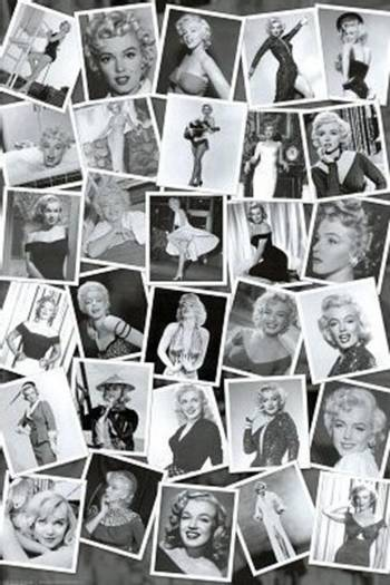 MARILYN MONROE-COLLAGE