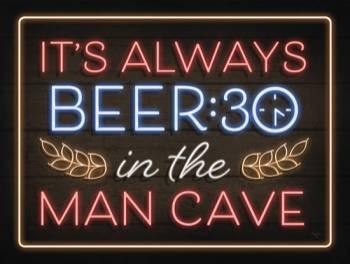 NEON BEER:30-MAN CAVE