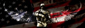 NO GREATER LOVE-AMERICAN SOLDIER