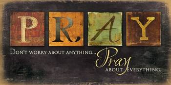 PRAY - DON'T WORRY