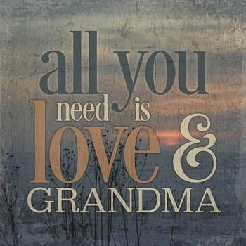 LOVE & GRANDMA